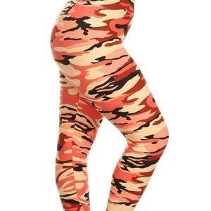 2330e97ccba5b Women Plus Size Camo Leggings on Poshmark